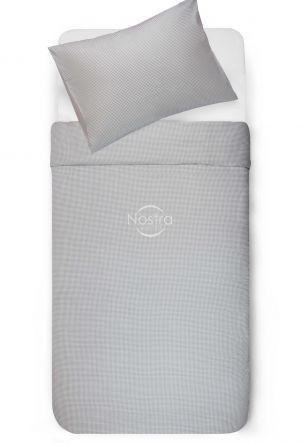 Bērnu katūna gultas veļa SQUARES 30-0467-L.GREY
