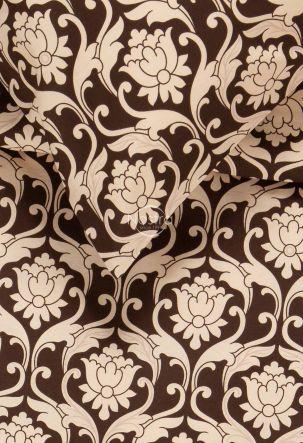 Kokvilnas gultas veļa DIONA 30-0570-BROWN