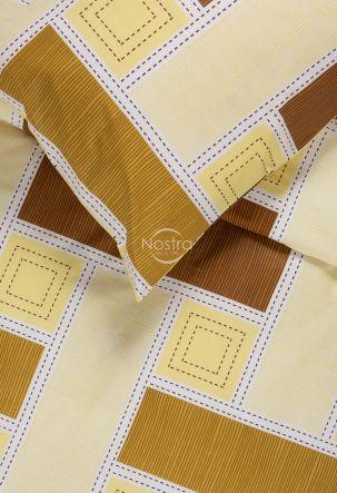 Kokvilnas gultas veļa DIAMANDA 30-0575-BROWN