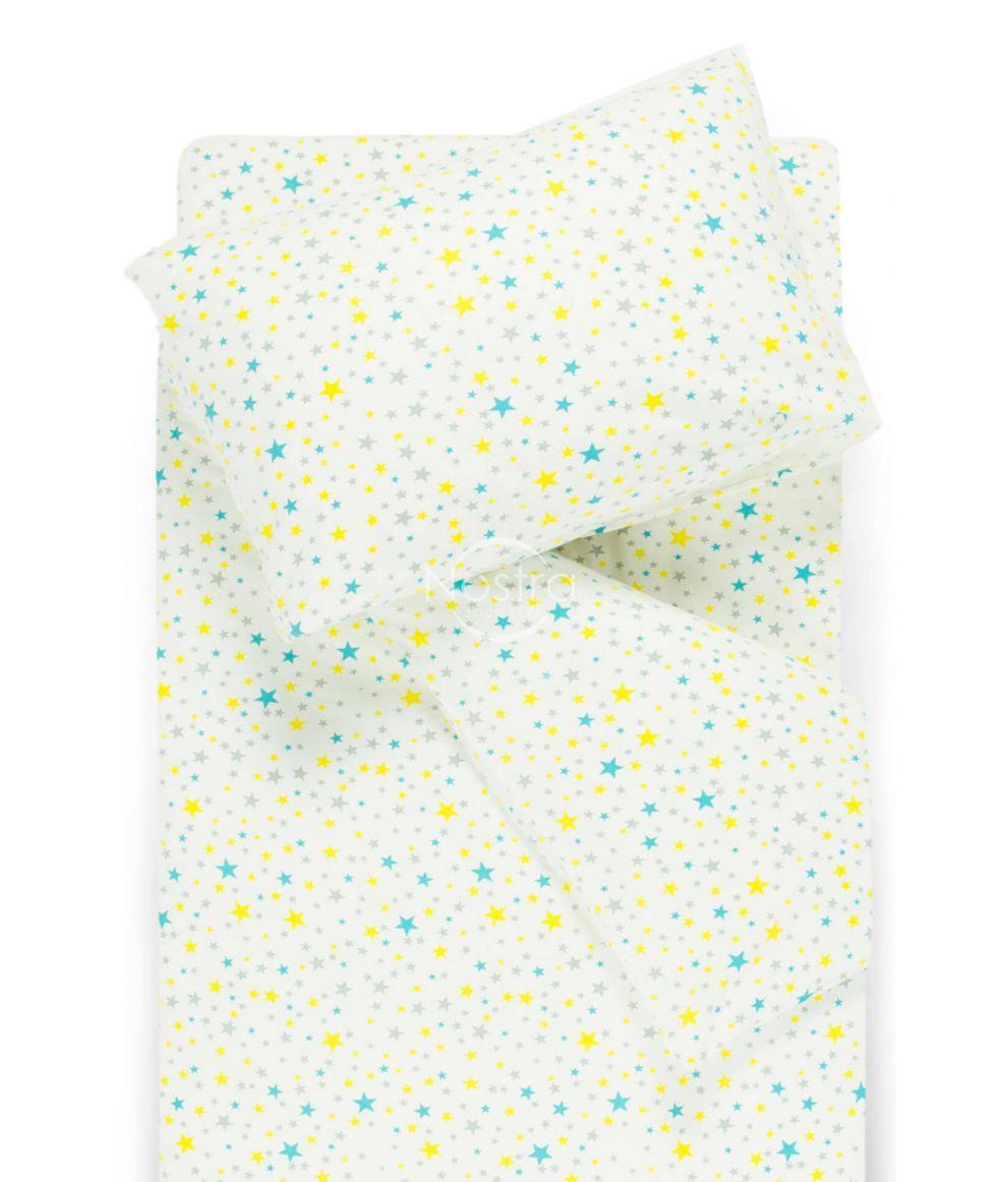 Bērnu flaneļa gultas veļa SOFT STARS
