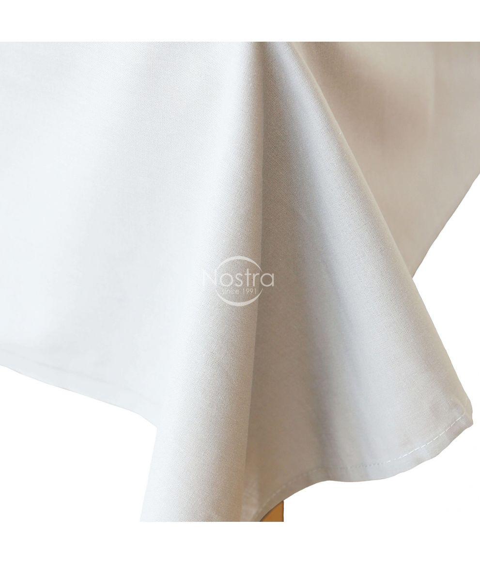 Белое холстовая простыня