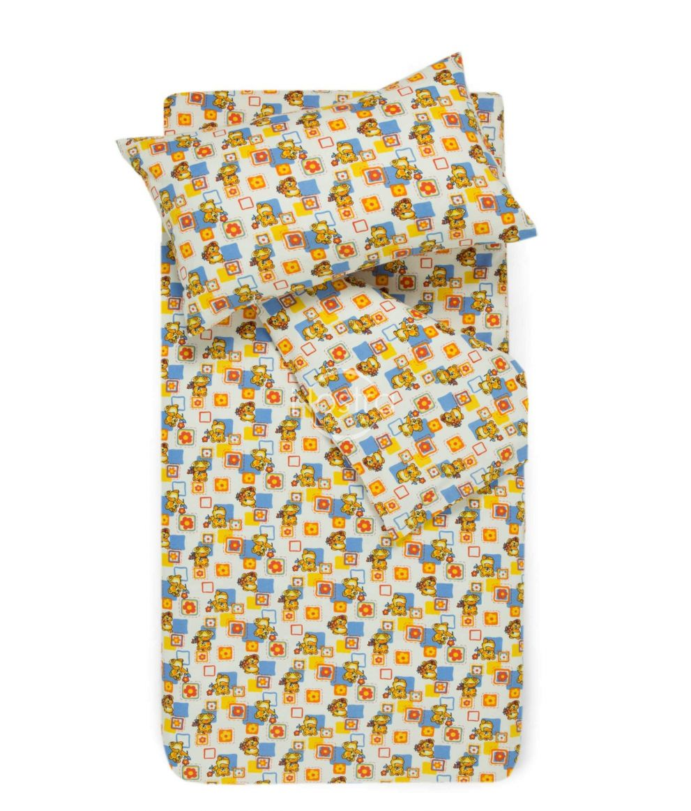 Bērnu flaneļa gultas veļa SMALL BEARS