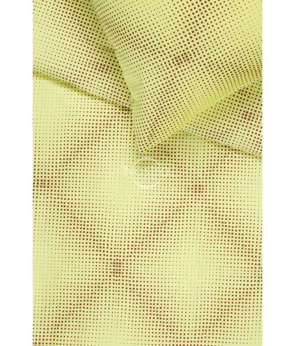 PREMIUM mako satīna gultas veļa CAROLINE 30-0450-YELLOW
