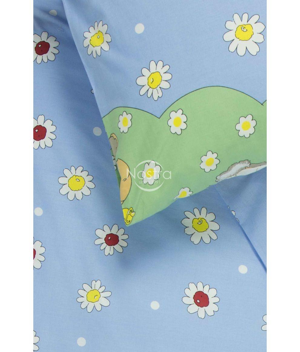 Bērnu katūna gultas veļa SUMMER SHEEP