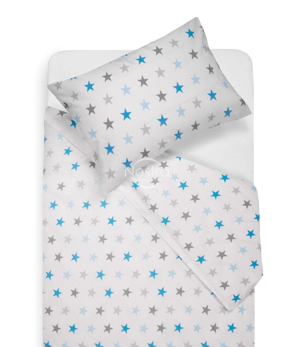 Bērnu katūna gultas veļa STARS