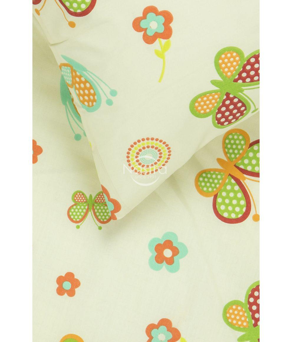 Bērnu katūna gultas veļa SPRING & BUTTERFLIES