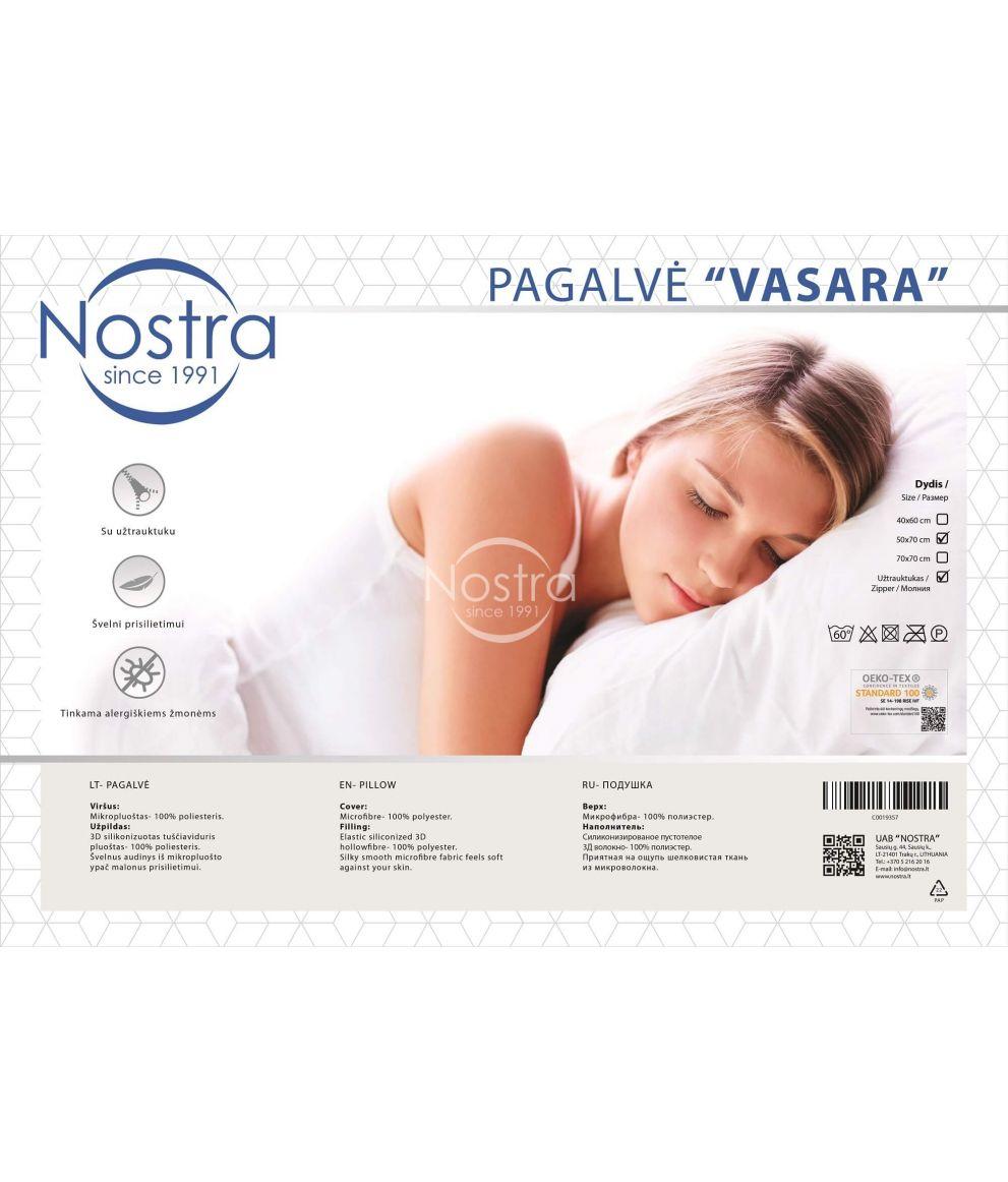Pillow VASARA with zipper