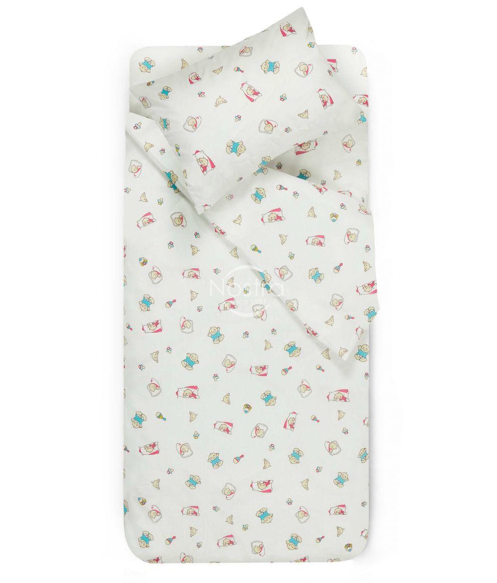 Bērnu katūna gultas veļa SLEEPING BABY
