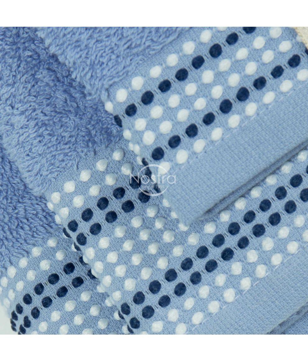 3 daļu dvieļu komplekts T0044 T0044-SOFT BLUE
