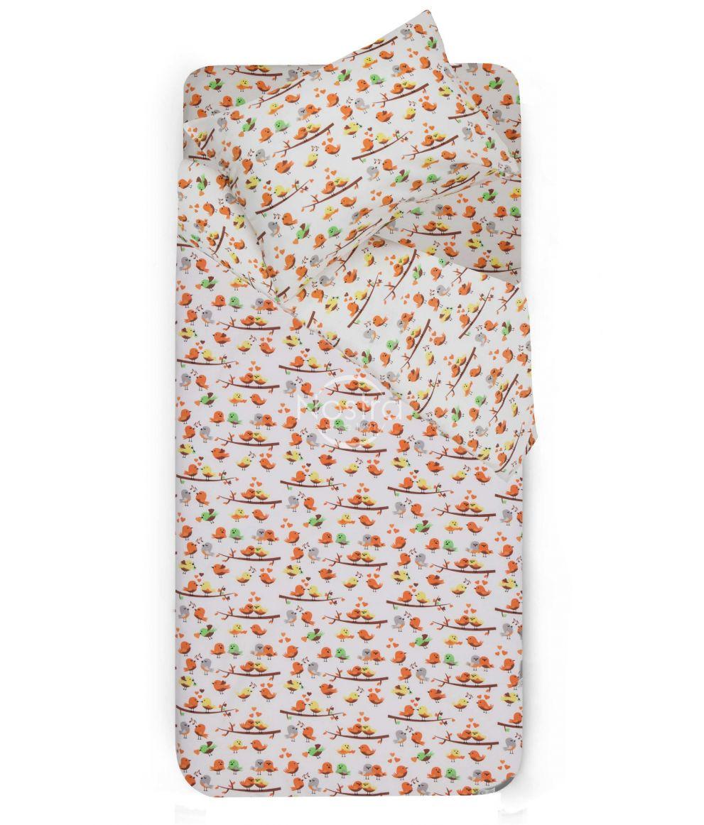 Bērnu flaneļa gultas veļa BIRDS