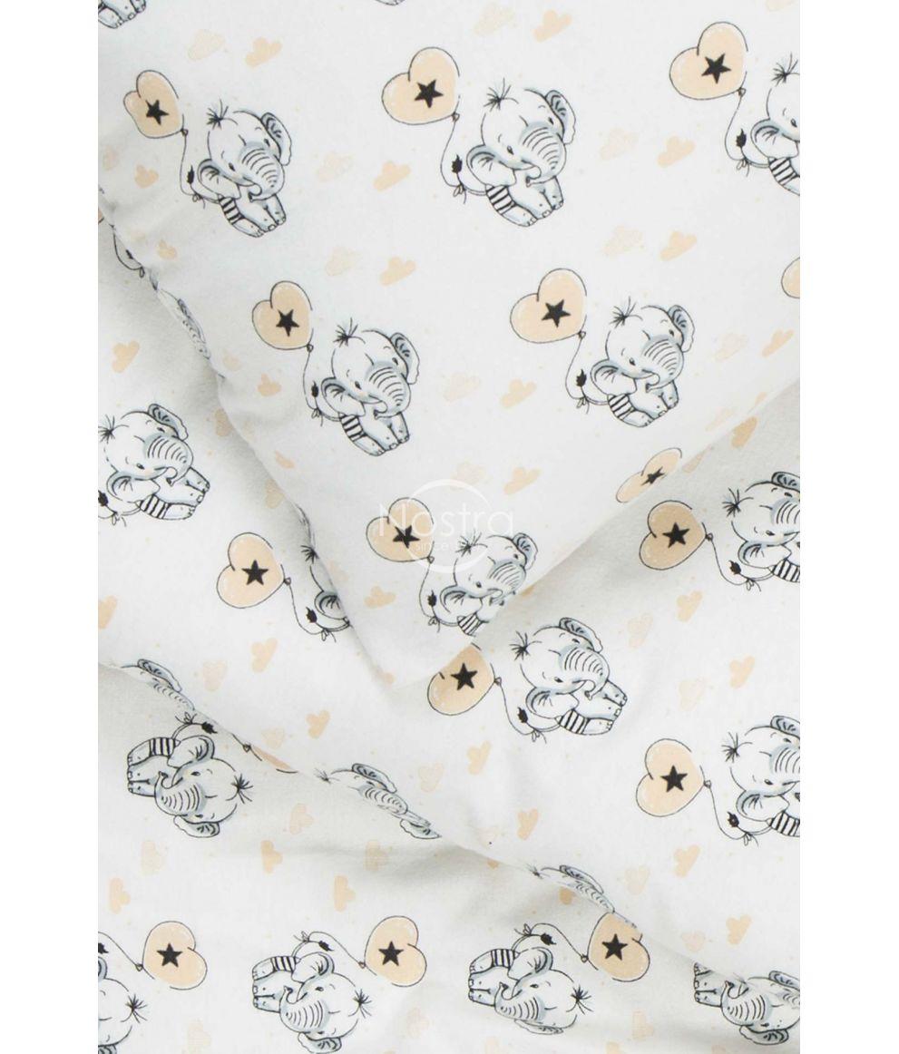 Детское фланелевое постельное белье BABY ELEPHANT