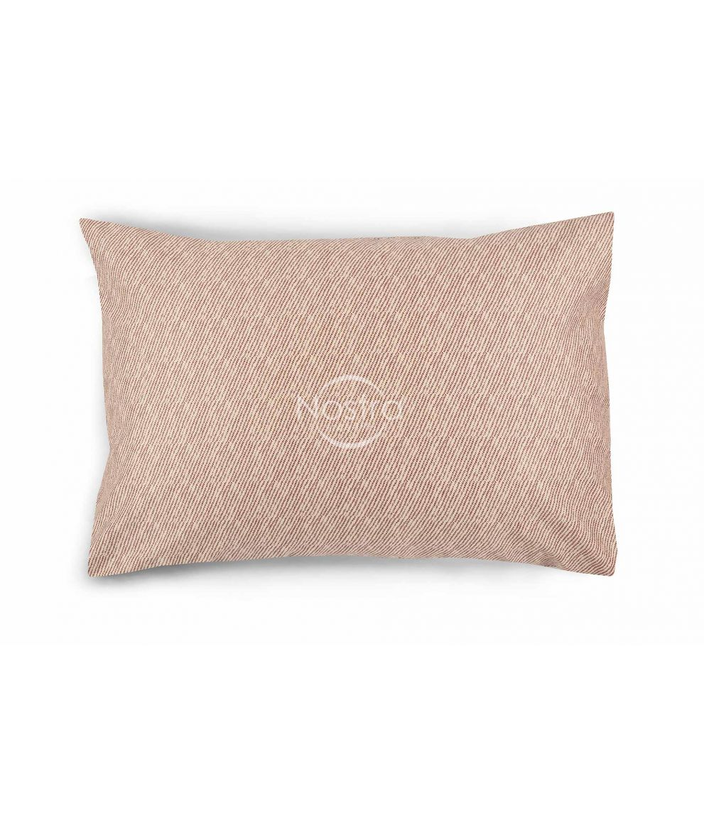 Sateen pillow cases with zipper