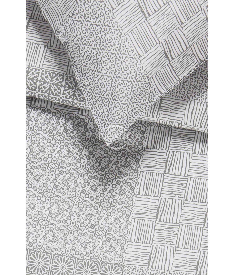 Kokvilnas gultas veļa DORITA