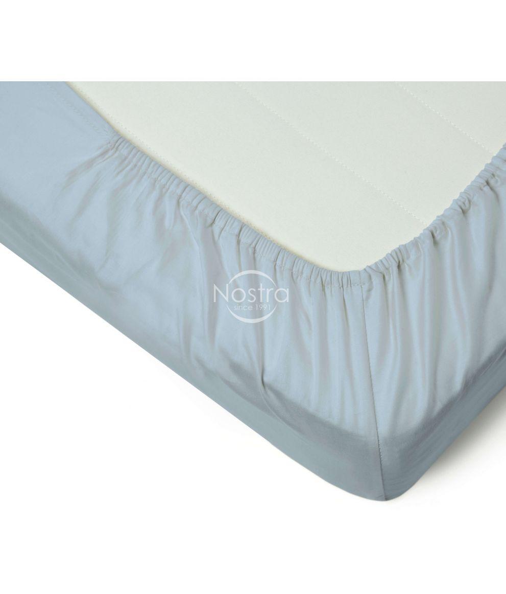 Satīna palagi ar gumiju 00-0186-FOREVER BLUE