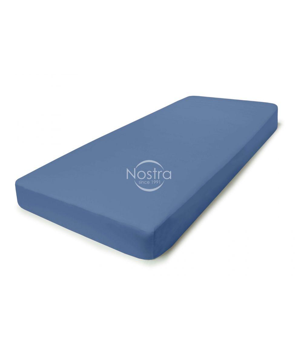 Satīna palagi ar gumiju 00-0271-BLUE