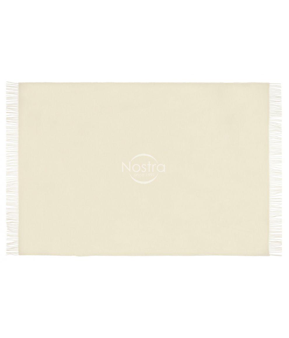 Vilnas pleds MERINO-300 DOUBLE FACE-WHITE