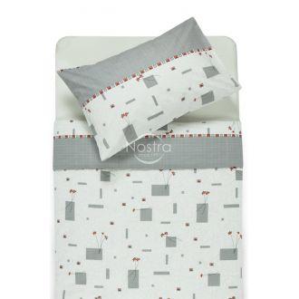 Polycotton bedding set HAYDEN 8766-GREY