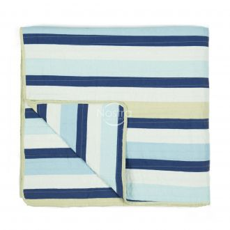 Quilted bedspread L0020-BLUE