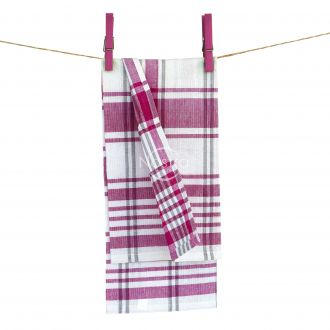 Kitchen towel DOBBY-200 T0031-BERRY