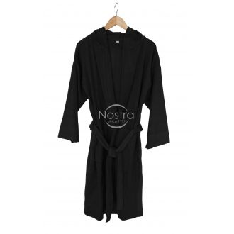 Hooded bathrobe 00-0055-BLACK