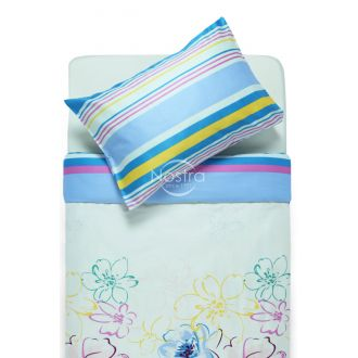 Sateen bedding set AGATA 20-1387/30-0452-MULTY