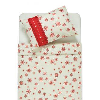 Фланелевое постельное бельё BRENDA 40-0996-WINE RED