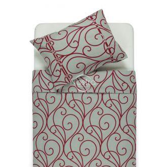 Фланелевое постельное бельё BRITNEY 40-0998-RED