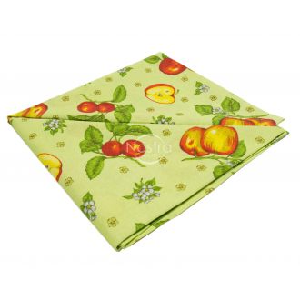 Cotton tablecloth 40-0325-LIGHT GREEN