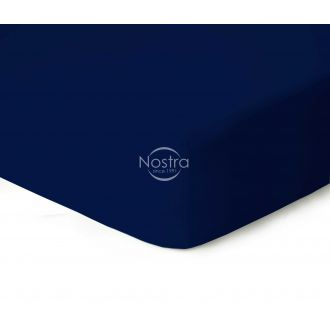 Fitted jersey sheets JERSEYBTL-NAVY