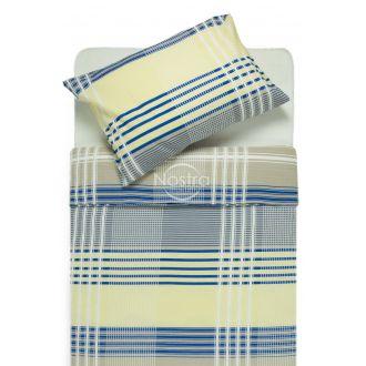 Seersucker bedding set ELORA 30-0416-NAVY