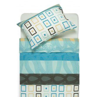 Seersucker bedding set EDIE 40-1061-AQUA