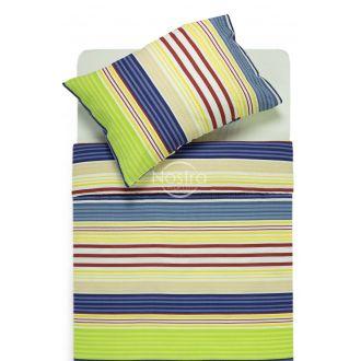 Seersucker bedding set ELIZABETH 30-0525-NAVY