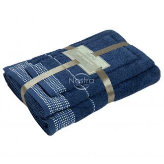 3 pieces towel set EXCLUSIVE T0044-NAVY 266