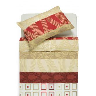 Burzīta gultas veļa EDIE 40-1061-RED