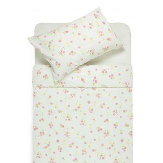 Burzīta gultas veļa EVELINA 20-0498-PINK