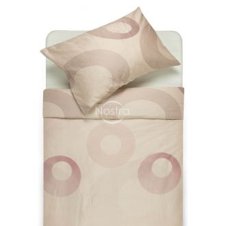 Sateen bedding set ABIGAIL 30-0429-WISPER PINK