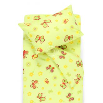 Children bedding set SPRING & BUTTERFLIES 10-0435-L.GREEN