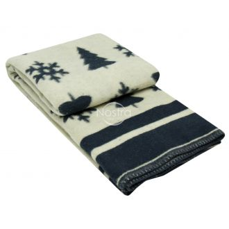 Blanket MERINO 80-3189-BLUE