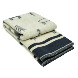 Blanket MERINO 80-3190-BLUE