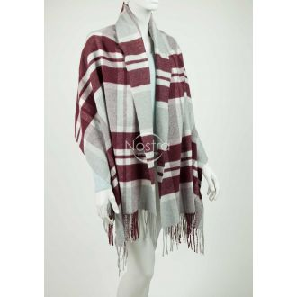 Scarf MAROCCO 80-3022-GREY BORDO