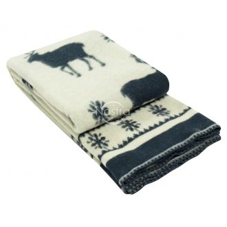 Blanket MERINO 80-3191-BLUE