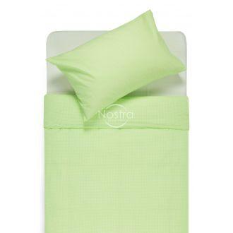 Bērnu katūna gultas veļa LITTLE CHECKS 30-0200-GREEN