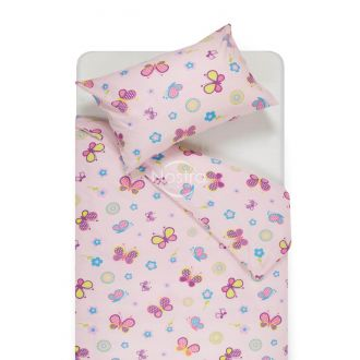 Children bedding set SPRING & BUTTERFLIES 10-0435-ROSA