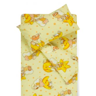 Children bedding set DREAMY BEARS 10-0304-YELLOW