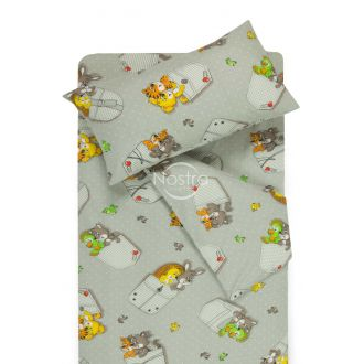 Children bedding set SLEEPING FRIENDS 10-0023-GREY