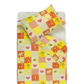 Детское постельное белье HAPPY ANIMALS 10-0115-RED/ORANGE