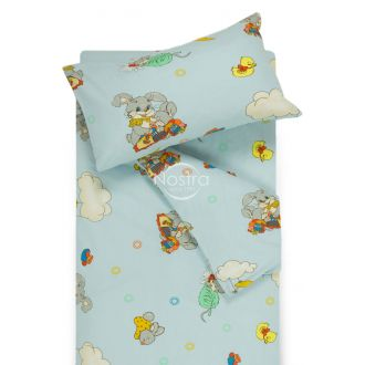 Children bedding set GOOD NIGHT BUNNY 10-0417-BLUE