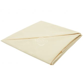 Jacquard sateen tablecloth 80-0006-L. CREAM
