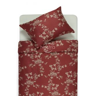 Sateen bedding set ANISHA 20-1329-MARSALA