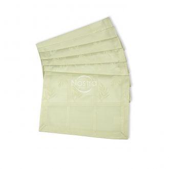 Jacquard sateen napkins, 6 pcs 80-0006-IVORY